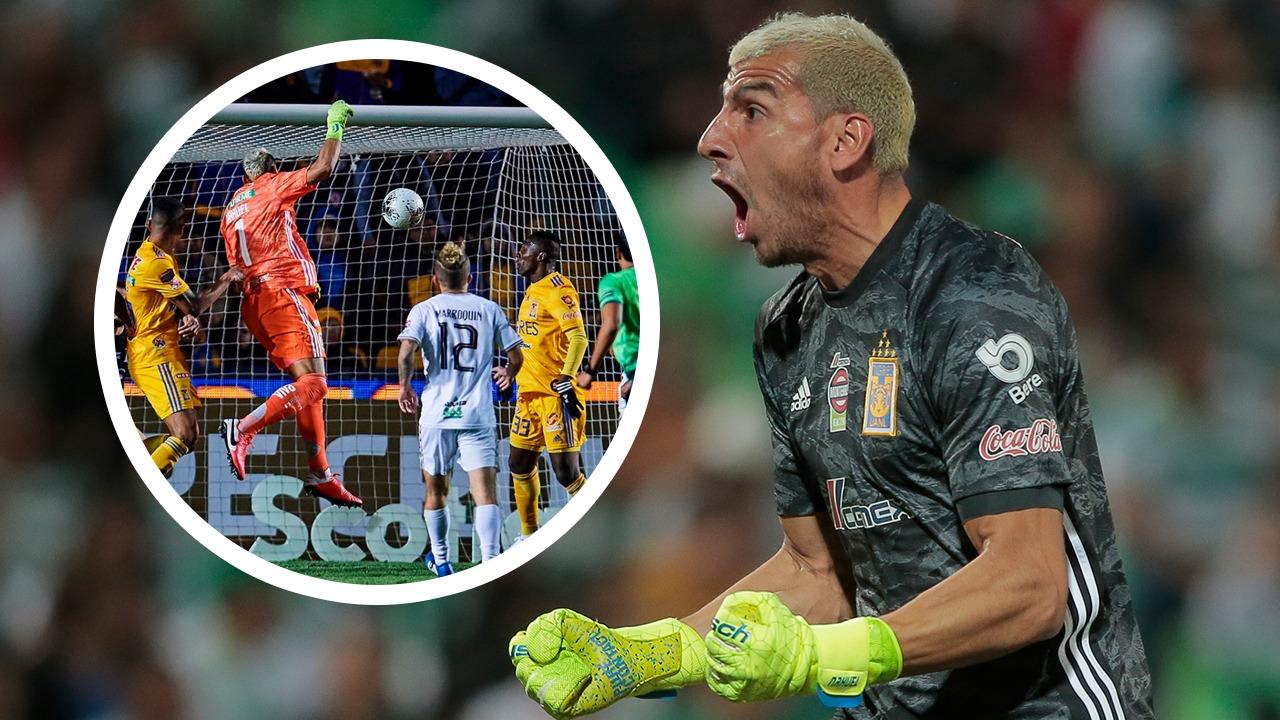 26/02/2020. Nahuel Guzmán fue el héroe de Tigres al anotar un gol de último minuto contra el Alianza en la Concachampions. Aquí el video