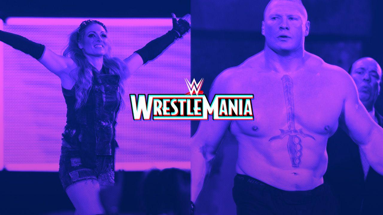 10/02/2020, WrestleMania WWE Los Angeles Sede 2021, Brock Lesnar y Becky Lynch
