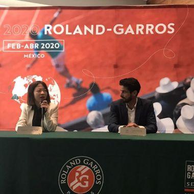 04/02/2020, Roland-Garros, Tenis, México, Presentación