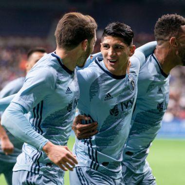 29/02/2020. Alan Pulido sigue aprovechando sus minutos en la MLS y con el Sporting Kansas City. Ahora anotó gol al Houston Dynamo en Jornada 2