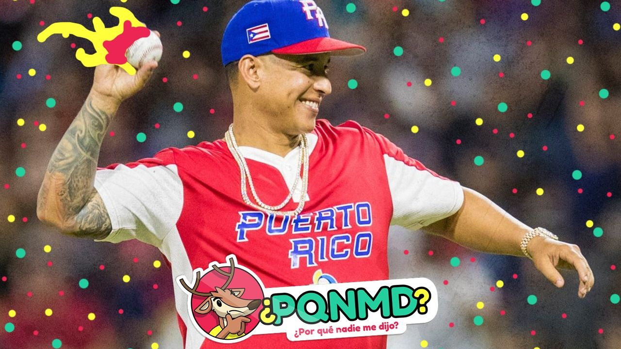 01/03/2020, Una lesión apartó a Daddy Yankee del deporte profesional pero no de su amor por el beisbol