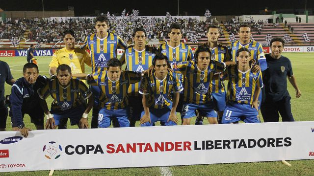 06/06/2009, San Luis, Copa Libertadores, Influenza, Pandemia