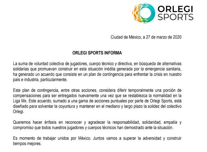 29/03/2020, Liga MX Femenil: No bajan sueldos de jugadoras por coronavirus