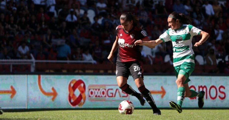02/03/2020, Jugadoras de Liga MX Femenil protesta con AMFpro