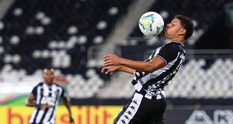 12/03/2020, Luis Henrique, futbolista de Botafogo, hace video misógino