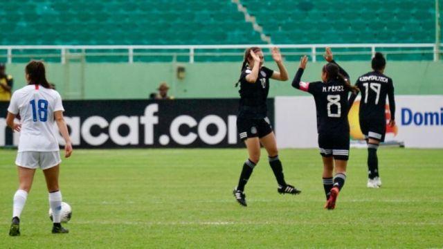 08/03/2020, Gol de Silvana Flores con la Selección Mexicana Femenil Sub 20