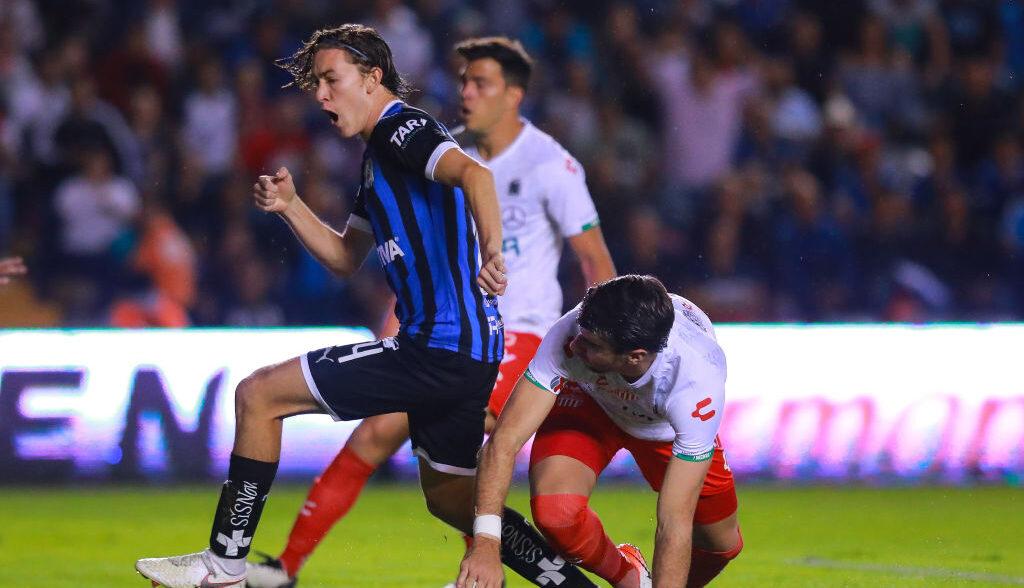 30/11/2019, Marcel Ruiz busca su salida del Querétaro para llegar a un club de Europa
