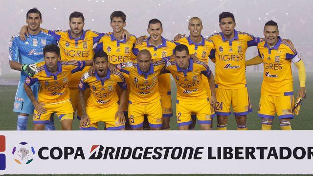 05/08/2015, Tigres, Copa Libertadores, Final, Jugadores