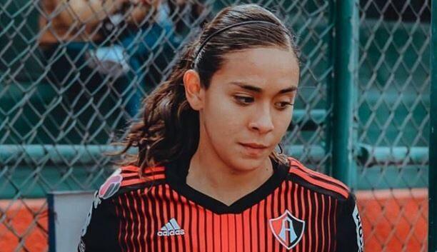 01/03/2020, La capitana del Atlas en la Liga MX Femenil Zellyka Arce pide cuidarse del coronavirus