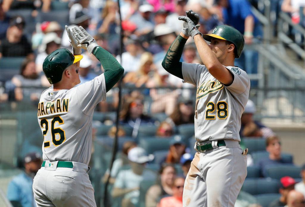 31/08/2019. Oakland Athletics Covid 19 Mlb Despidos Los Pleyers, Jugadores de Oakland.