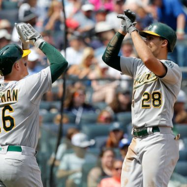 31/08/2019. Oakland Athletics Covid 19 Mlb Despidos Los Pleyers, Jugadores de Oakland.