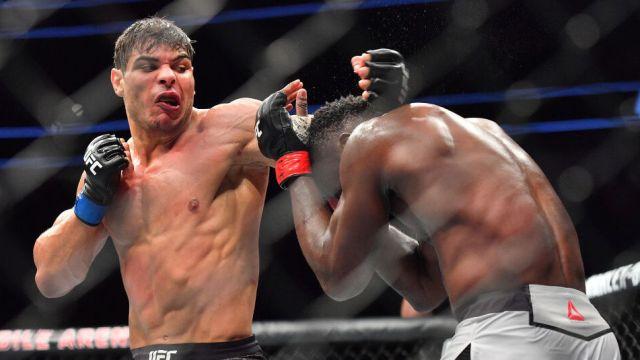 07/07/2018, Donación de cerebro de Paulo Costa para estudios por golpes en peleas de la UFC