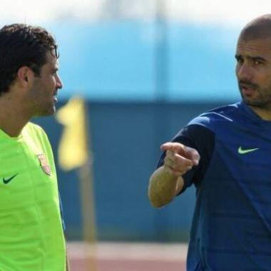 04/04/2020, En Barcelona Pep Guardiola le pedía consejos a Rafa Márquez sobre el sistema de Ricardo La Volpe