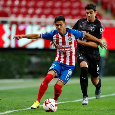14/03/2020. Celta Vigo Uriel Antuna Jonathan González Fichajes Los Pleyers, Uriel Antuna en un partido con Chivas.