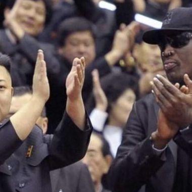 11/05/2020, ¿Por qué son amigos Dennis Rodman y el líder de Corea del Norte Kim Jong-Un?