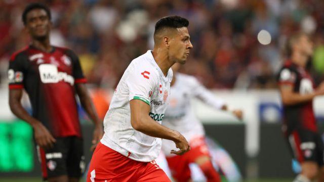 25/10/2019, Mauro Quiroga, Necaxa, Liga MX, Delantero