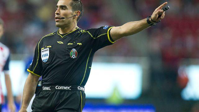 01/02/2014. Liga Balompié Mexicano Liga MX Árbitros Retirados Los Pleyers, Chiquimarco en su etapa como silbante de la Liga MX.