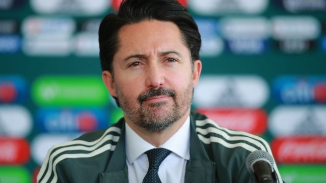 07/01/2019. Liga Balompié Mexicano Yon de Luisa Nivel Amateur Los Pleyers, Yon de Luisa en una conferencia de prensa.
