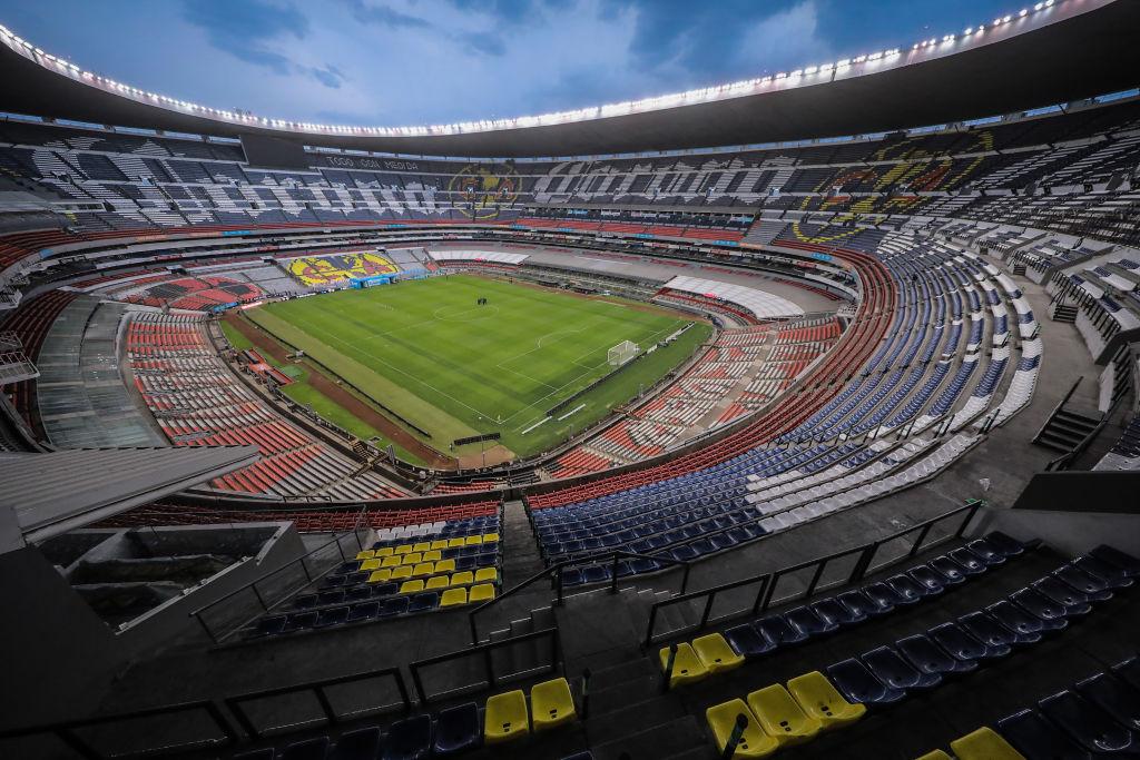 15/03/2020. Liga MX Clausura 2020 Liga MX Femenil Cancelado Los Pleyers, Estadio Azteca sin gente.