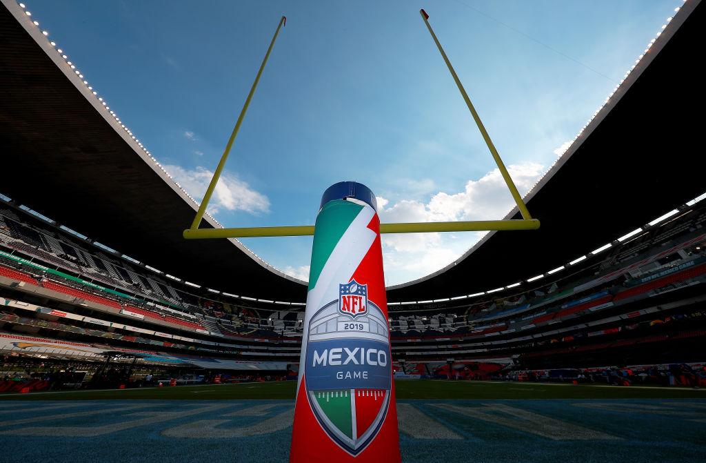 18/11/2019. Se procedería a cancelar el juego de la NFL México por el coronavirus