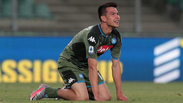 Gattuso alaba al Chucky Lozano y promete minutos en Napoli 28/06/2020
