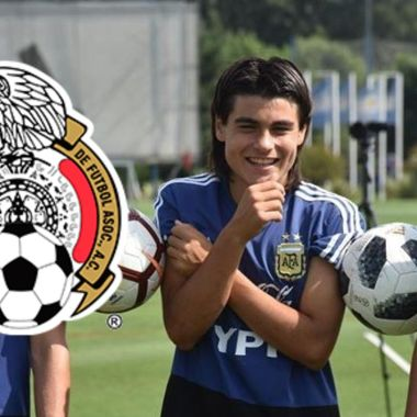Selección Mexicana le robará a Argentina a Luka Romero 27/06/2020