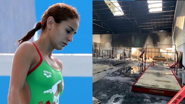 Incendio destruye Code Jalisco previo a Juegos Olímpicos 18/07/2020