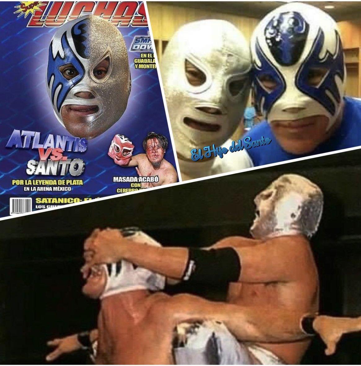 Hijo del Santo acepta pelea por la máscara de Atlantis 10/07/2020