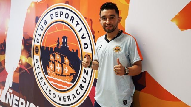 Hobbit Bermúdez es el nuevo fichaje del Atlético Veracruz de la Liga Balompié Mexicano 27/07/2020