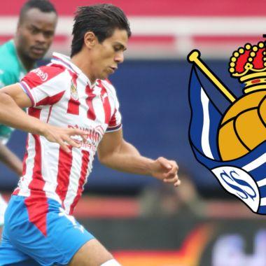Real Sociedad va por José Juan Macías