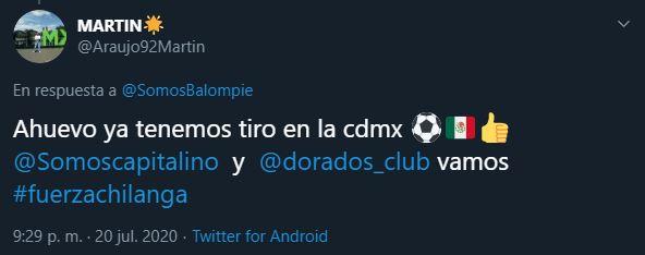 Leones Dorados de la CDMX es otro de los equipos de la Liga Balompié Mexicano 21/07/2020