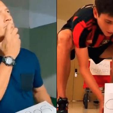 Luis Hernández hace TikTok con video de Jurgen Damm 04/07/2020
