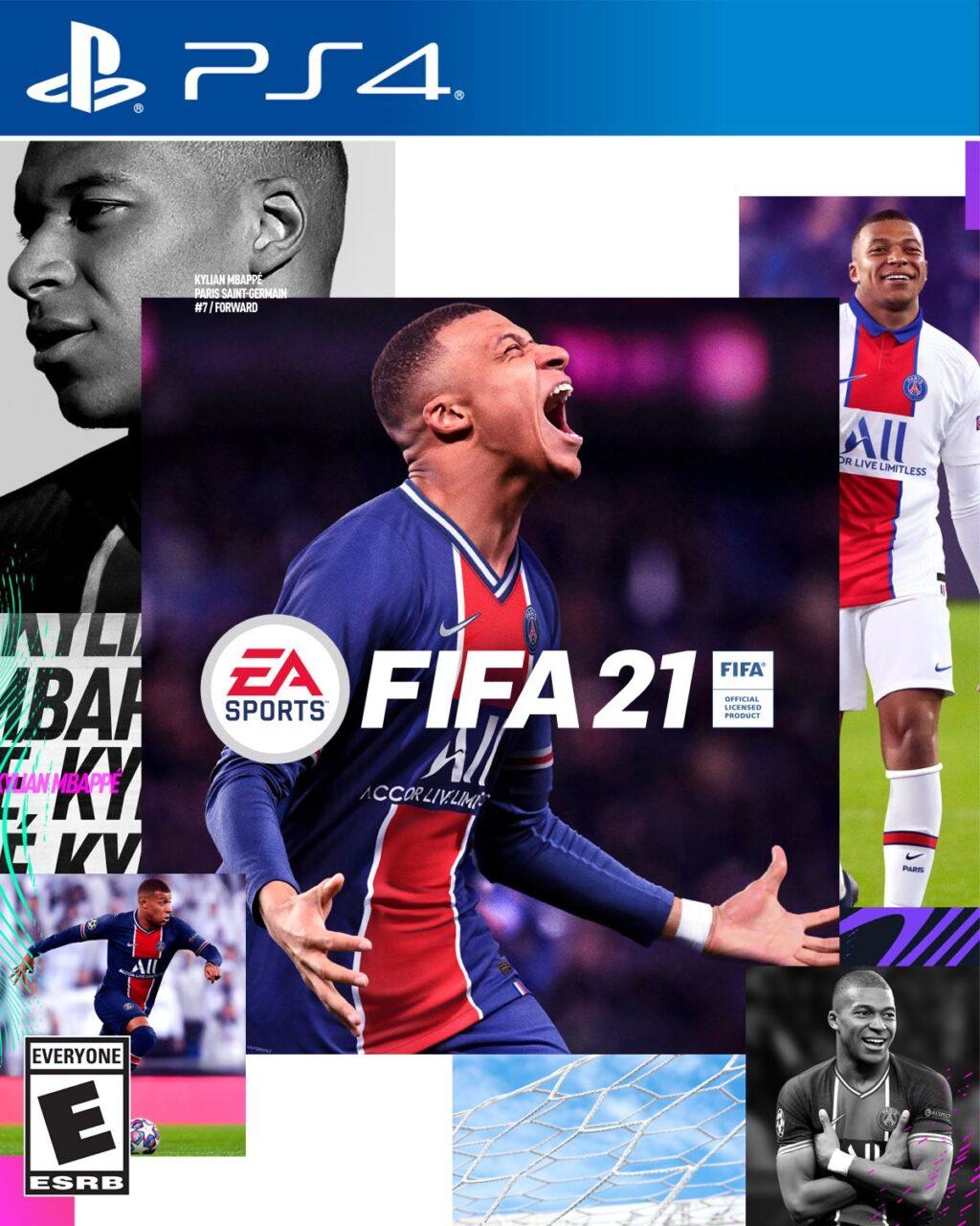 Mbappé es la portada del videojuego FIFA 21 22/07/2020