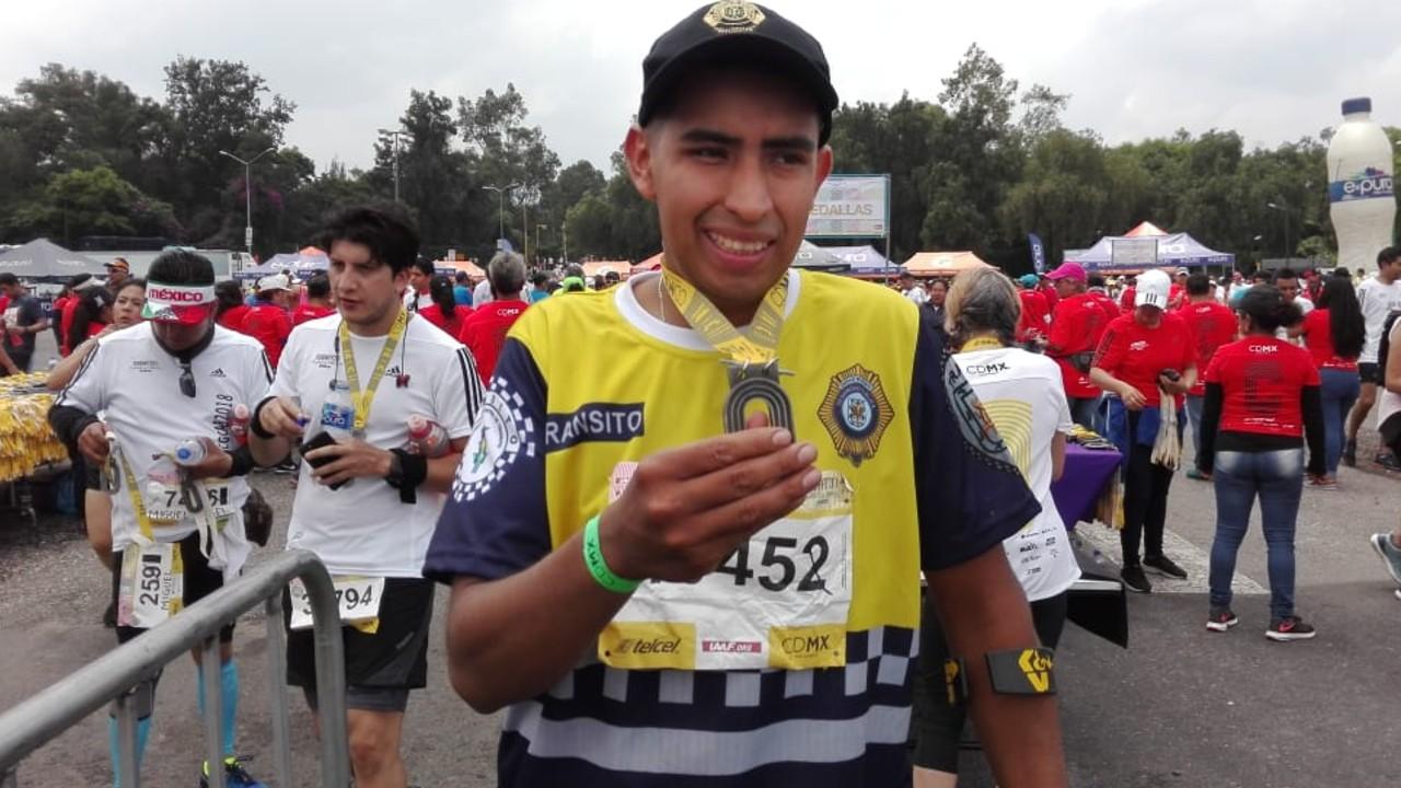 Conoce la historia de Pablo Ramírez un policía y atleta paralímpico que ganó en lagartijas 04/07/2020