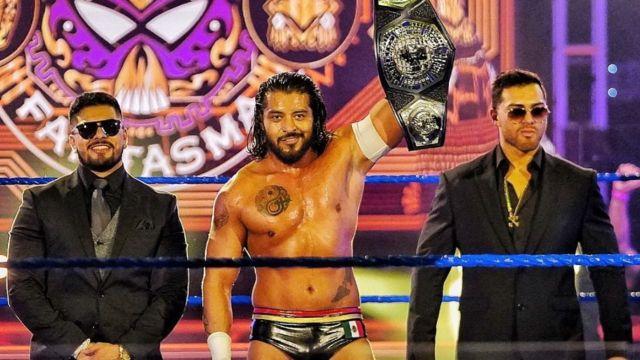 El Hijo del Fantasma ahora Santos Escobar revela secretos para ser campeón en la WWE 13/07/2020