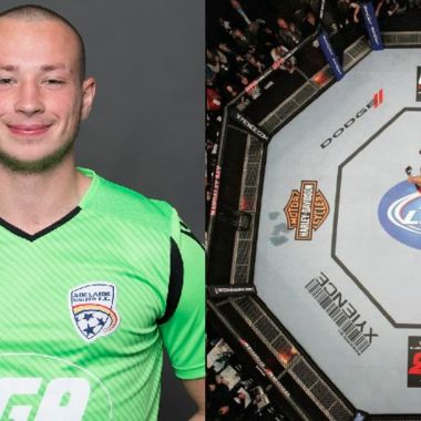 Portero deja el futbol para propinar nocauts en las artes marciales mixtas 06/07/2020