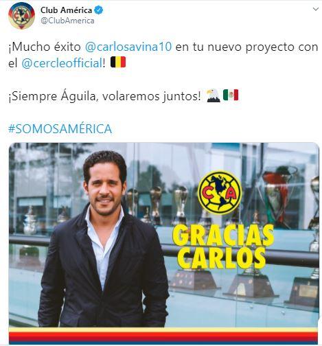 Carlos Aviña América Europa Los Pleyers