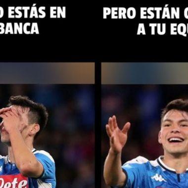 Checa los mejores memes del Barcelona vs Napoli y el Chucky