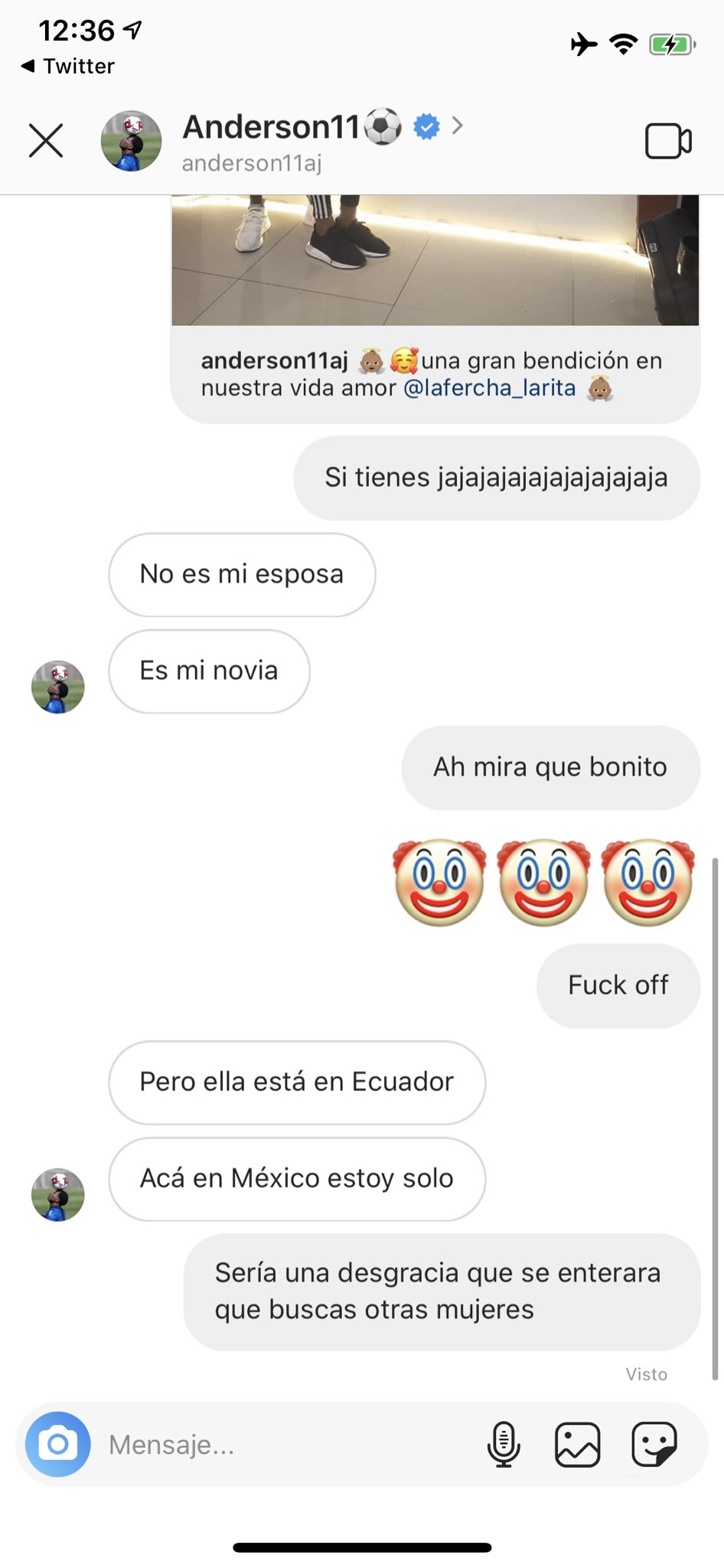 Conversación Anderson Julio Infiel Los Pleyers 2