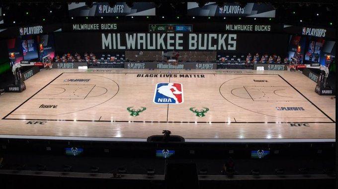 Duela vacia de los Milwaukee Bucks