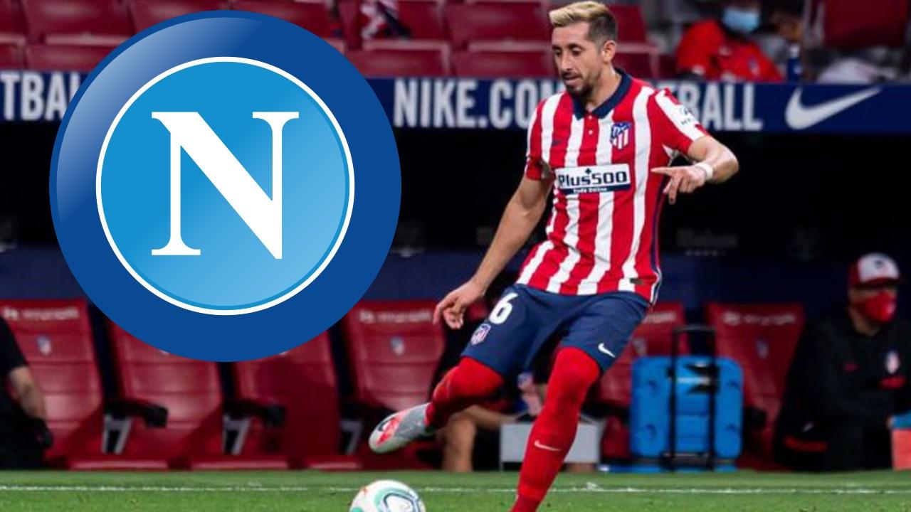 Simeone mandaría a Héctor Herrera al Napoli de Chucky Lozano