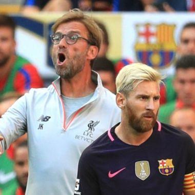 Klopp junto a Messi y hoy dijo que Cristiano es mejor