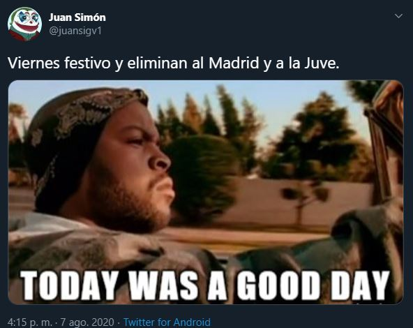 Real y Juventus quedan fuera de Champions y memes se burlan