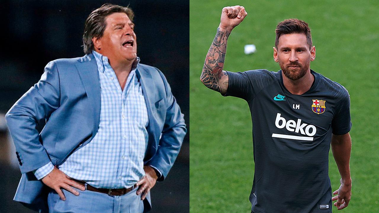 Miguel Herrera explica cómo llegaría Messi a jugar a México