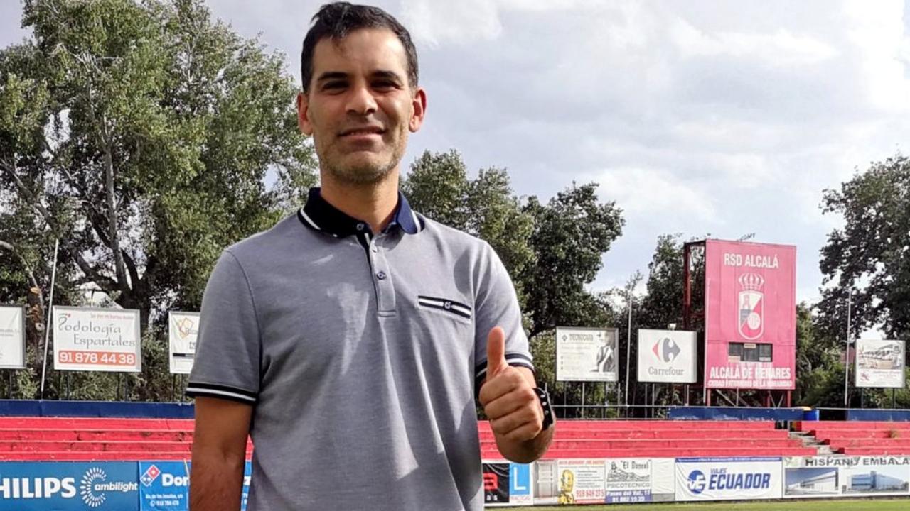 Rafa Márquez debuta como entrenador del Alcalá de la Tercera División de España 03/08/2020