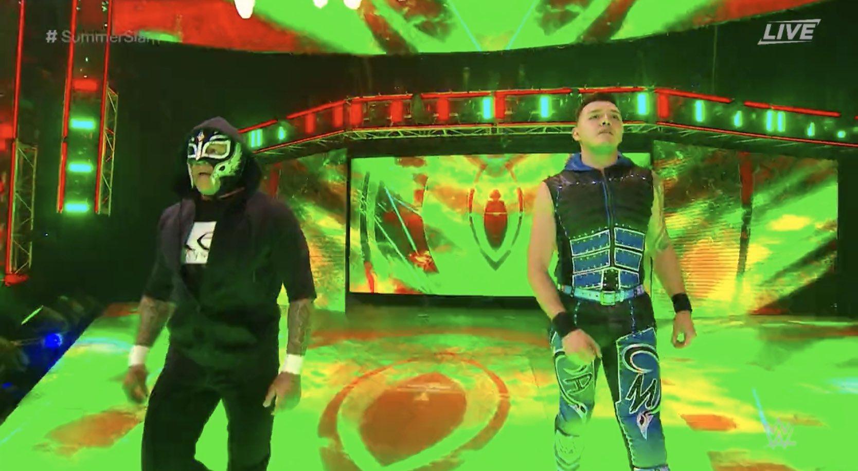Rey Mysterio Dominik Mysterio SummerSlam Los Pleyers