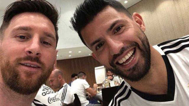 Kun Agüero silencia a Lionel Messi por posible llegada al Manchester City