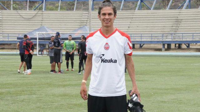 Blas Aguayo Futbolista del Atlético Ensenada
