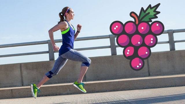 ¿Eres Runner? La uva es el mejor snack para entrenar