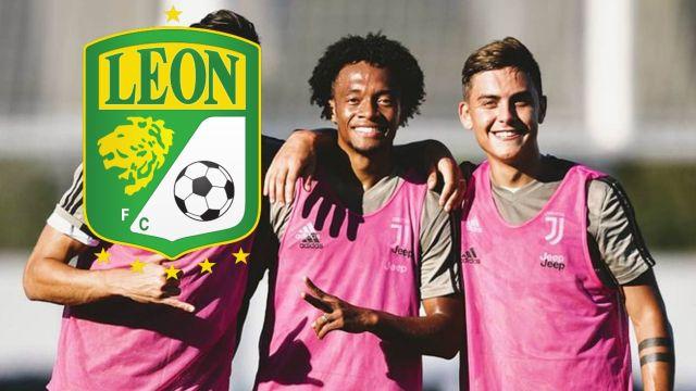 Juan Cuadrado cambió a la Juventus por el León